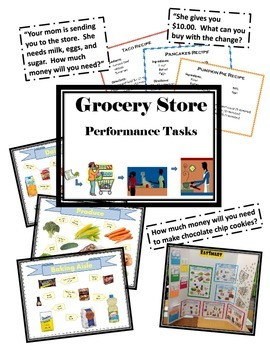 Grocery Store Performance Tasks