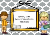Grocery Store Product Identification Task Cards