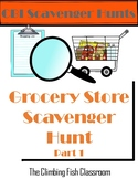 Grocery Store Scavenger Hunt: Part 1
