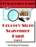 Grocery Store Scavenger Hunt: Part 2