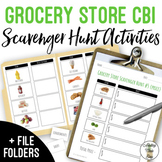 Grocery Store Scavenger Hunt With Visuals - Life Skills Sh