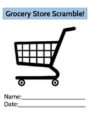 Grocery Store Scramble: Adding and Subtracting Dollar Amounts