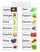 Life Skills Grocery Store Sections Food Sort