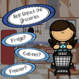 Grocery Store Sort: 3 different formats for distance learning and in class use