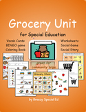 Grocery Store Unit for Community Trips {Special Education }