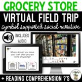 Grocery Store Virtual Field Trip Narrative  Google Slides SS