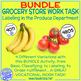 Grocery Store Vocational Work Task- Produce Section