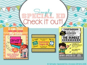 Grocery Store Words: The Bundle for Special Education Students