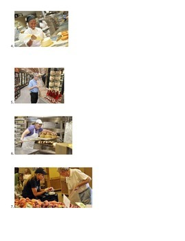 Grocery store-ESL students-several activities in one lesson
