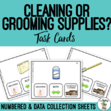 Cleaning or Grooming Supplies Task Cards