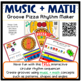 Music + Math: Groove Pizza Rhythm Maker