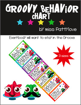Groovy Behavior Clip Chart!* Must Have!