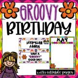 Groovy Birthday ~ Editable