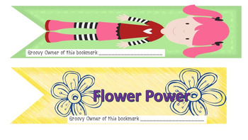 Groovy Bookmarks to Share With your Reading Students