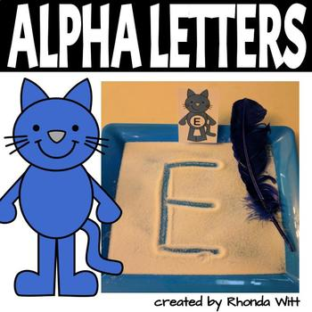 Groovy Cat Alphabet Letters