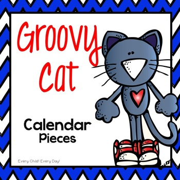 Groovy Cat Calendar Pieces