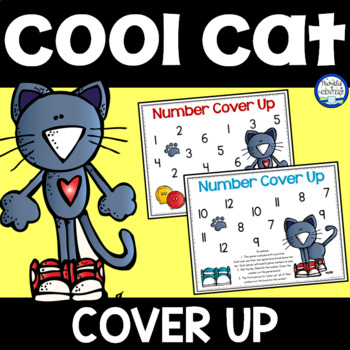 Groovy Cat Cover Up - Number Recognition Game