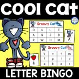 Groovy Cat Letter Bingo