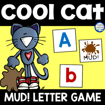 Groovy Cat MUD! Letter Recognition Game