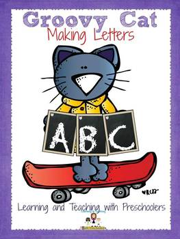 Groovy Cat Making Letters