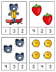 Groovy Cat Math and Literacy Centers for Pre-K and Kindergarten