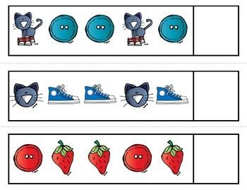 Groovy Cat Pattern Cards {AB, ABC, ABB, AAB}