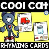 Groovy Cat Rhyming Clip Cards