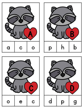 The Kissing Hand Letter Match Game