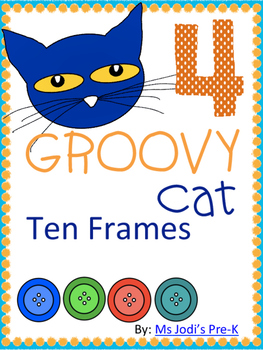 Groovy Cat Ten Frames