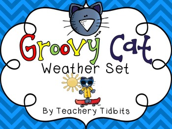 Groovy Cat Themed Weather Set