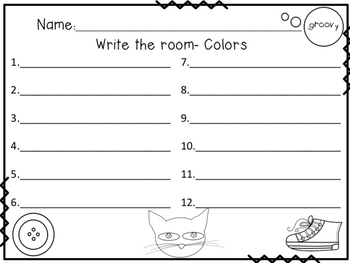 Groovy Cat Writes the Room in Color