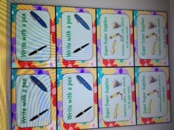Groovy Flower reward cards