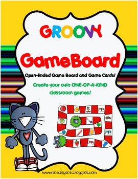 Groovy Game Board {Open-Ended Game Board!}