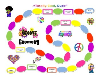 Groovy Geometry Game  (Upper Grades Elementary) for Common Core