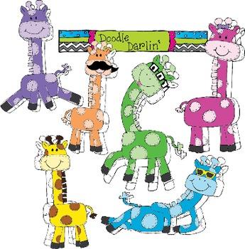 Groovy Giraffes COMBO