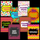 Groovy/Hippie Binder Covers and Spine Labels ~ Editable