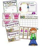 Groovy Hippie Kids Classroom Theme