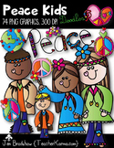 Groovy Kids Clip Art ~ Students Graphics ~ Holiday