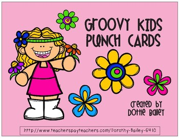 Groovy Kids Punch Cards