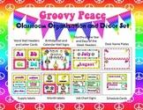Groovy Peace Classroom Organization and Decor Set