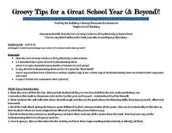 Groovy Tips for a Great School Year (& Beyond)!