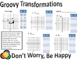 Groovy Transformations - Reflections, Rotations, Translations, and Dilations