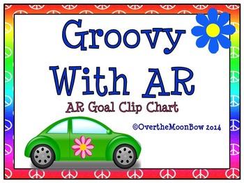 Groovy With AR ~ Reading Goal Clip Chart