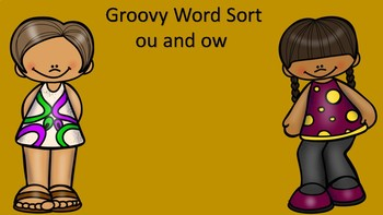 Groovy Word Sort ou and ow