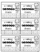Groovy behavior punch cards {Pete the cat inspired}