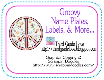Groovy name plates, labels, and more...