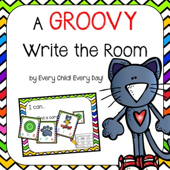 A Groovy Cat:  A Groovy Write the Room