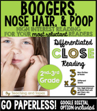 Gross Close Reading (Differentiated)