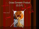 Gross Domestic Product Powerpoint  (GDP) (Optional Cloze Notes)