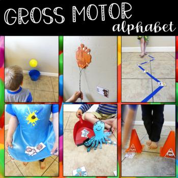 Gross Motor Alphabet Activities